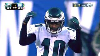Desean Jackson Punt Return Touchdown vs Giants