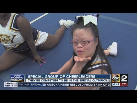 MD Special Olympics cheerleaders headed to World Games for the first time