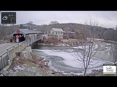 Covered Bridge Webcam From Vermont's Mad River Valley