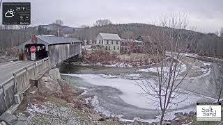 Фото Covered Bridge Webcam Vermonts Mad River Valley