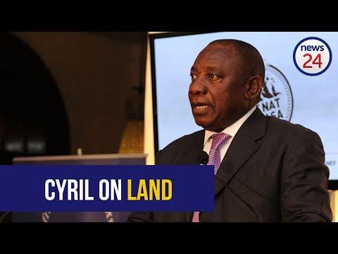 WATCH LIVE: Cyril Ramaphosa addresses ANC land summit