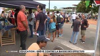 Education : grève contre la baisse des effectifs