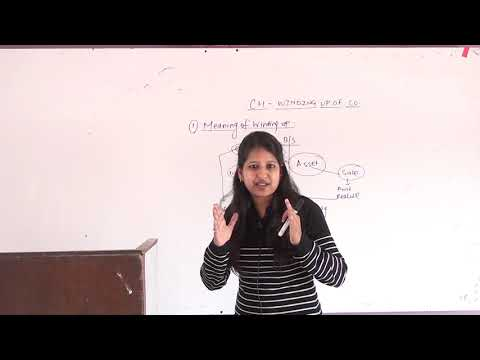 Winding up of company under companies act 2013 by ca shweta Agarwal