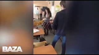 В Красноярской    школе №151 учительница английского избивает учениц