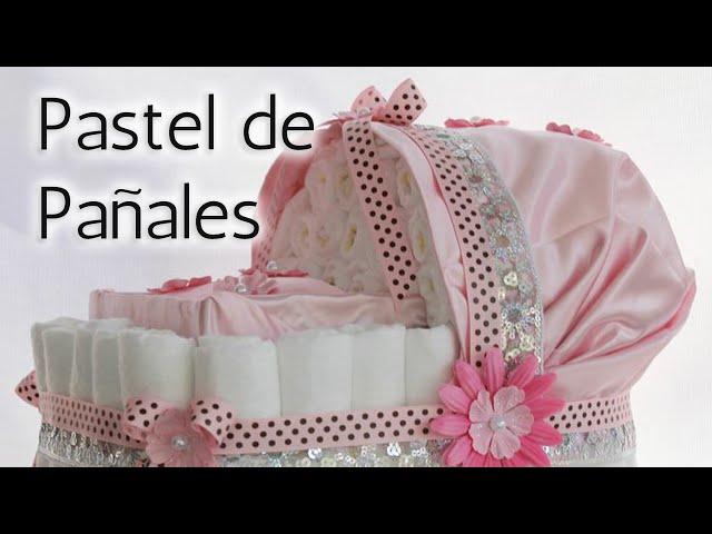 40 Súper Ideas para Pastel de pañales Baby Shower HD