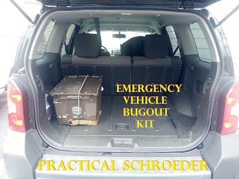 Emergency Vehicle Bugout Kit