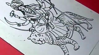 How to Draw LORD KANAKADURGA DRAWING for KIDS