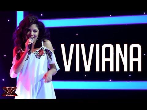 Viviana toda una gran cantante  Noches latinas   Factor X Bolivia 2018