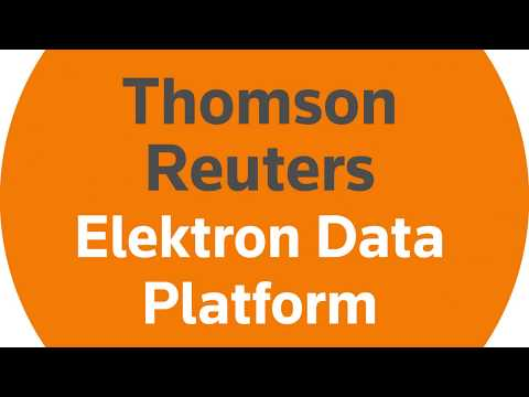How can the Thomson Reuters Elektron Data Platform help you make faster, smarter market decisions?