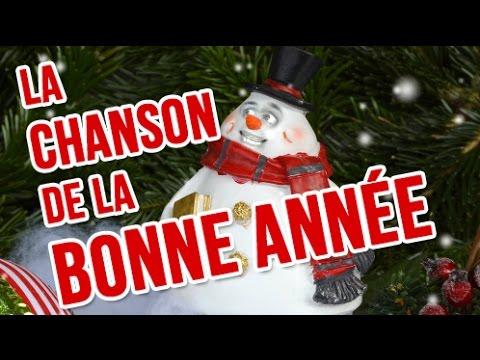 La chanson de la bonne ann e bonne ann e humour carte for Carte de voeux humour