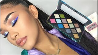 SWERVE EDITION - Fenty Beauty Galaxy Palette ft. Blue Cut Crease | YELENV