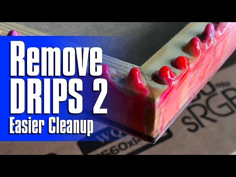 03 | Easy Resin Drip 2 Clean Up | Removal After Curing