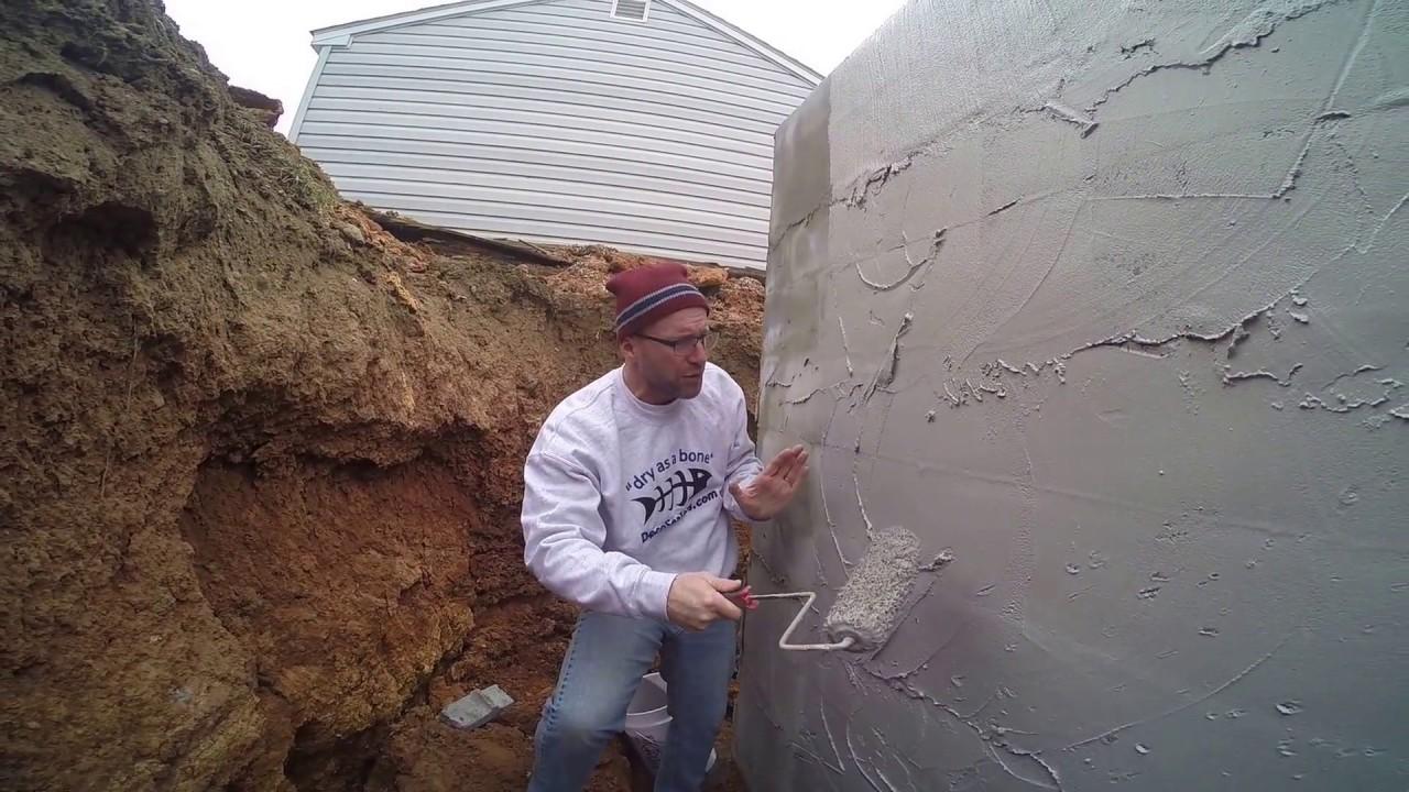 The Best Basement Waterproofing Easy Diy Coating