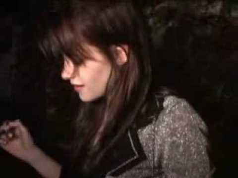 Kristen Stewart and Michael Angarano at party