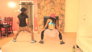 Hiphop booty shaking workout (Keaira LaShae)