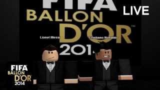 FIFA BALON DE ORO -ROBLOX PARODY-