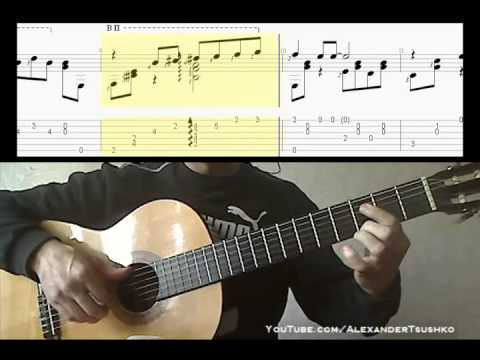 The Beatles -Yesterday (video sheet music for guitar)