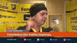 #CANLIYAYIN - Fenerbahçe ligin ilk haftasında Gazişehir'i 5-0 mağlup etti