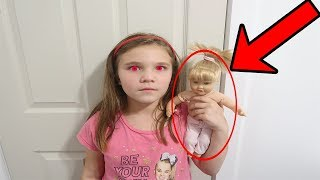 Something Is Wrong With Her! Escaping The Doll Maker! Come Play With Us!