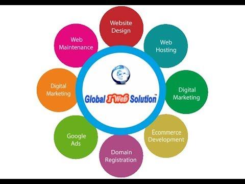Global i Web Solution Domain Hosting Development & Digital Marketing