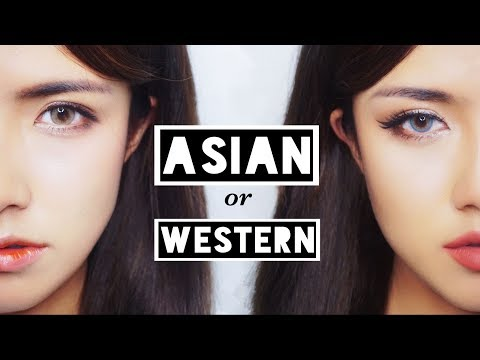 ♡ 亚洲妆容 VS 欧美妆容 ♡ Asian vs Western Makeup