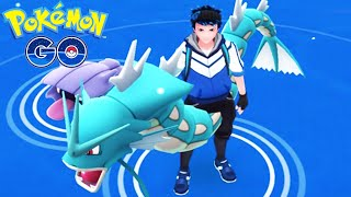 CATCHING LEGENDARY GYARADOS | POKEMON GO | GYM BATTLE IN STATUE OF LIBERTY