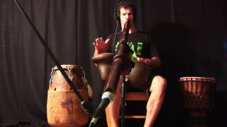Improvisational Didgeridoo & Udu Drum Jam