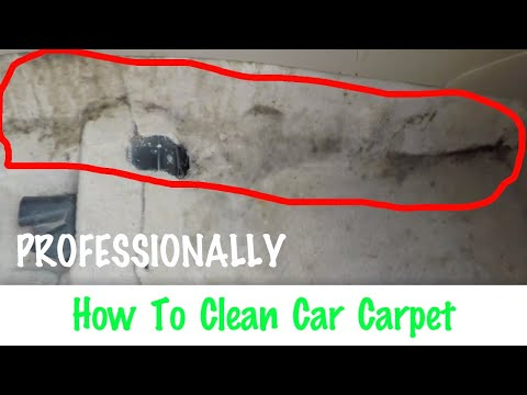 How To Professionally Clean Your Car's Carpet! Smoke Dirty Coffee Spills