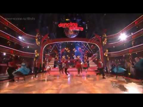 DWTS 2012 Macey's Stars of Dance Dick Clark tribute - YouTube