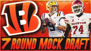 Cincinnati Bengals 2020 Mock Draft || Joe Burrow Era Is Coming