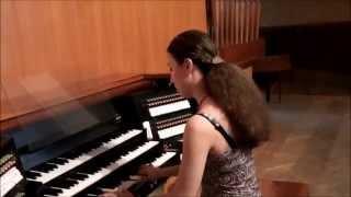 мой папа органный мастер, играю на органе, обзор органа/Olga Bivol
