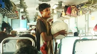 Great Talented Guy - One Of The Best Qawali I Have Ever Heard In Train To Ajmer India 2016 HD 1080p