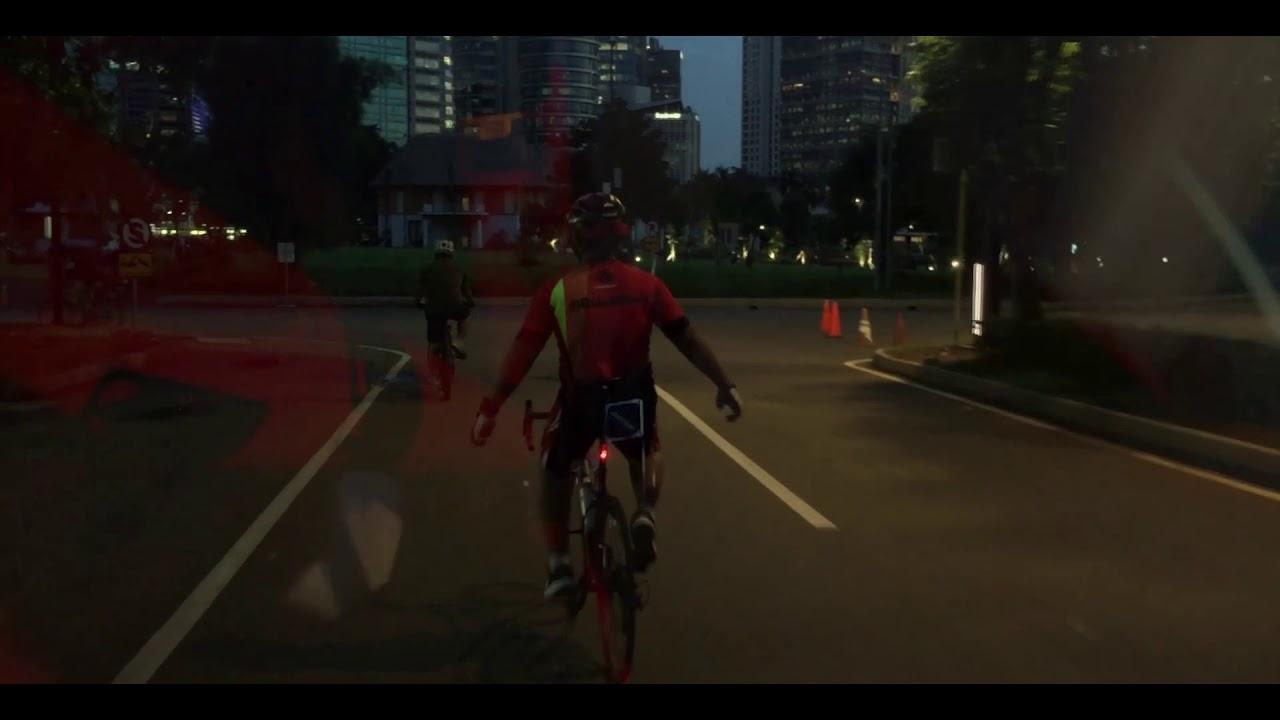 Sepeda Santai Keliling Ibukota Jakarta Walet Gowes Community