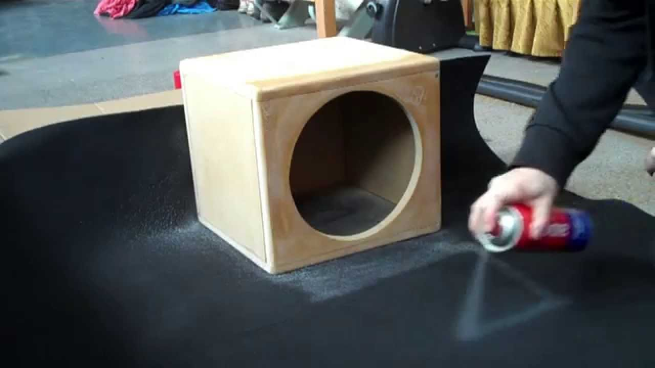 how to get the smell out of a subwoofer box