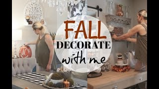 DECORATE WITH ME| FALL 2018 HOME DECOR| Megan Navarro