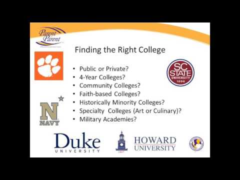 Webinar: Finding the Right College for You and Your Student (Applications & Admissions)