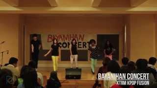 XTRM Kpop Fusion @ Bayanihan Concert 2014