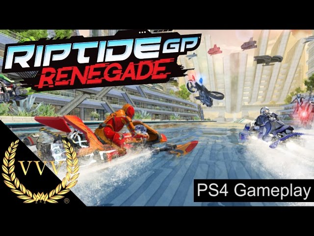 Riptide GP Renegade PS4 Gameplay