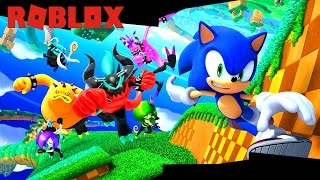 THE WORLD OF SONIC IN ROBLOX!!!