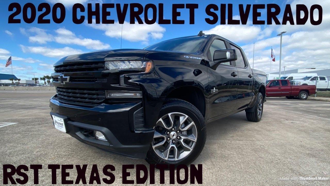 2020 Chevrolet Silverado Rst Startup Review Youtube