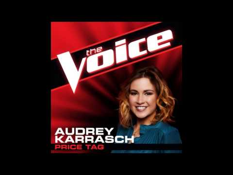 "Audrey Karrasch: ""Price Tag"" - The Voice (Studio Version)"