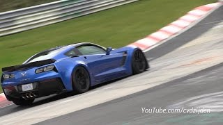 2015 Corvette Z06 with F1 Gearbox Testing on the Nurburgring thumbnail