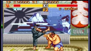 Street Fighter II Turbo - Hyper Fighting - Street Fighter II Turbo - (SNES) -LAST STAR DIFFICULTY-Full Game Playthrough- Championship Edition - User video
