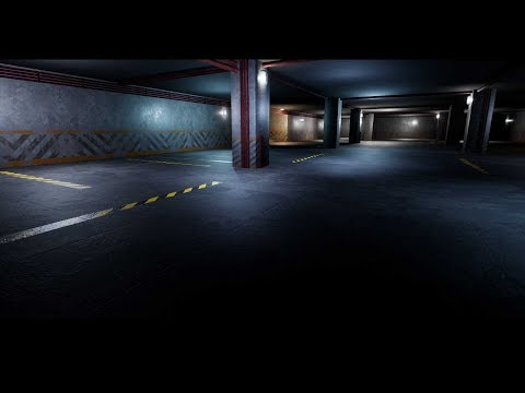 Making of Parking Lot 3ds max Unreal engine tutorial final part