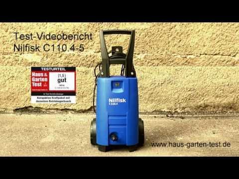 Testvideo Nilfisk C110.4-5 X-Tra