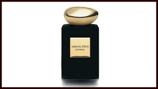 Oud Royal from Armani Prive: 1001 Nights Collection
