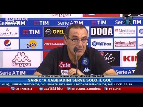 Interviste Napoli-Bologna 3-1: Sarri, Donadoni e Insigne - 4a Serie A 17/09/16