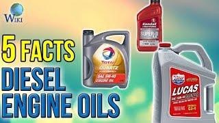 Diesel Engine Oils: 5 Fast Facts