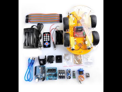 Gbargin/Elegoo Robot Car Kit for Arduino assembly