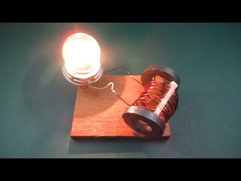 Free Energy Magnet Coil Generator New Technology At Home